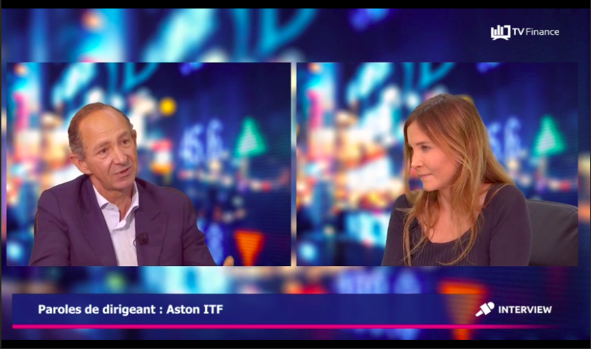 ASTON ITF sur TV Finance